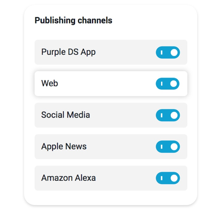 Multichannel Content Hub from Purple DS Digital Publishing